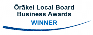 orakei local board business award winner logo