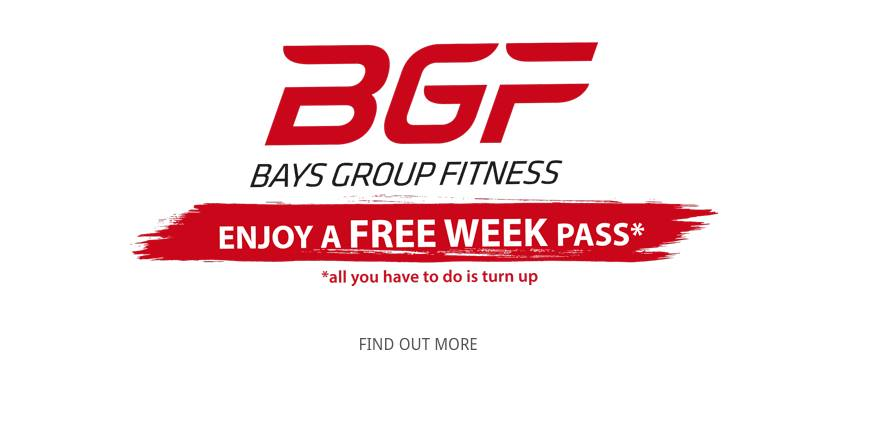 Bays Group Fitness : Free Week Pass