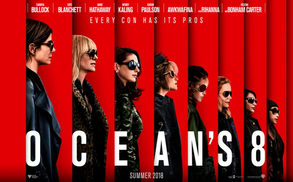 Movies in the Park: Ocean's 8 at St Heliers