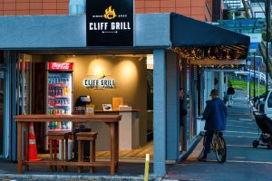 Cliff Grill St Heliers Outside